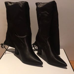 💥NWOT Black Guess Angeley above knee boot 7.5
